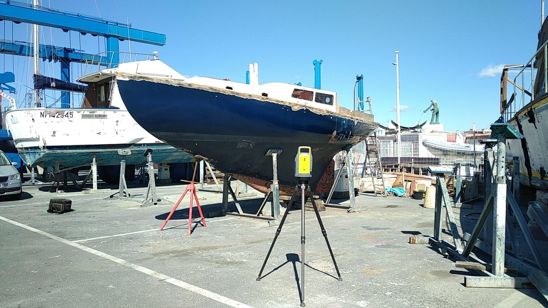 Scan 3d de bateau
